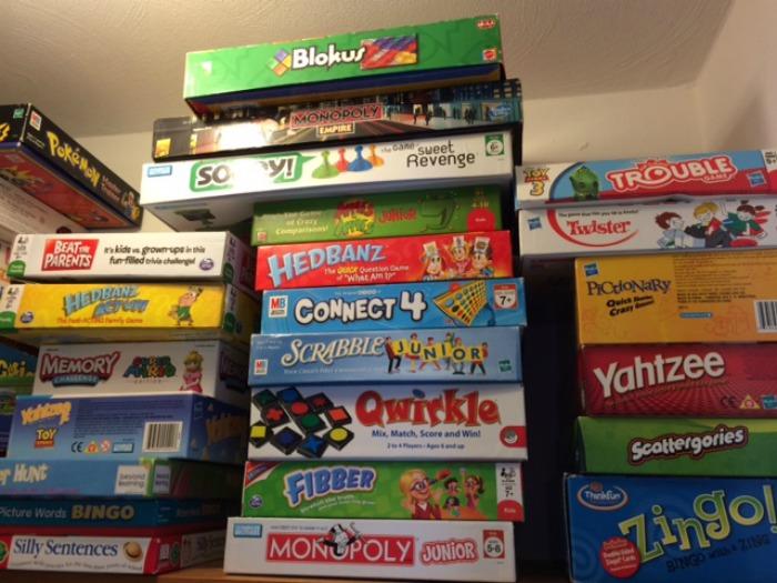 Board Game Storage
