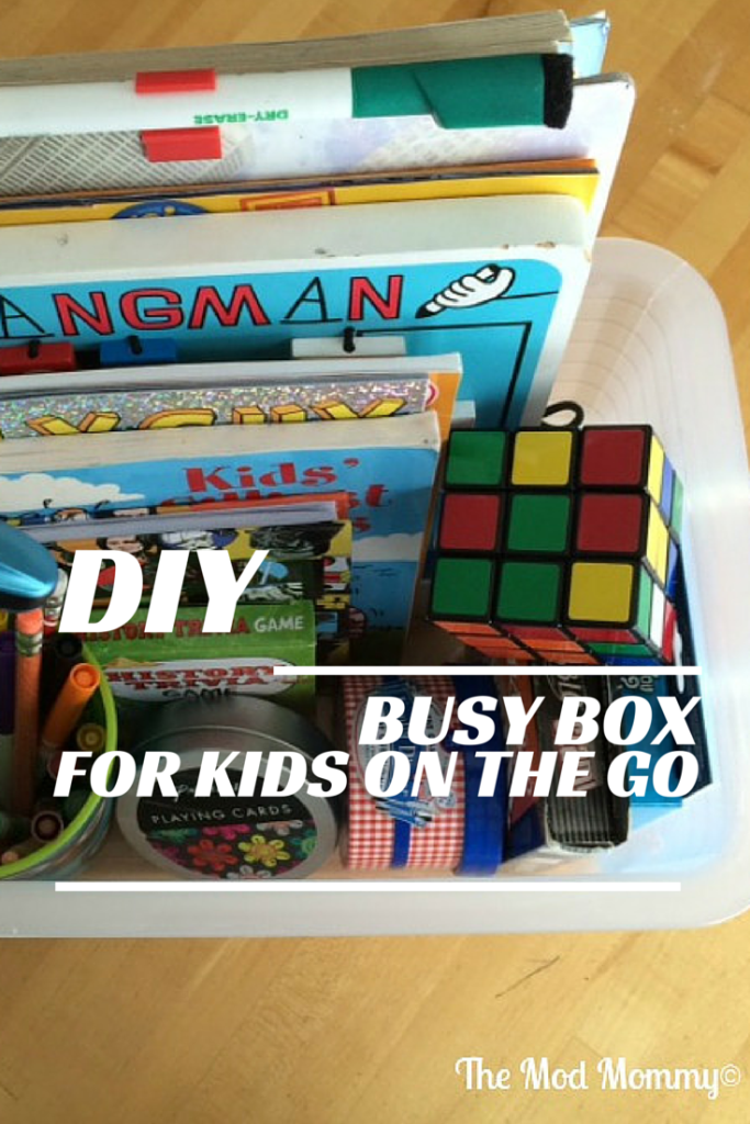 DIY: 'Busy box' for kids entertains while on-the-go