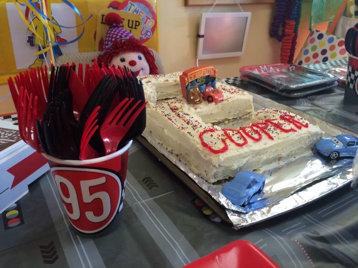 cooper cars cake