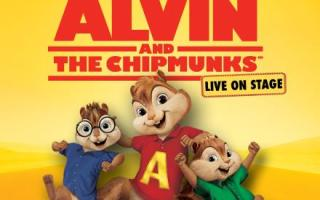 Special Discount for 'Alvin & The Chipmunks' Live on Stage Tickets