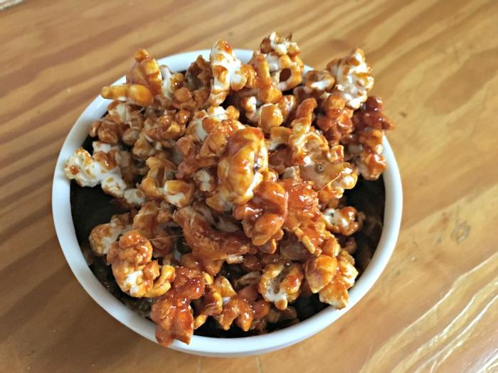 lingham's hot sauce spicy popcorn