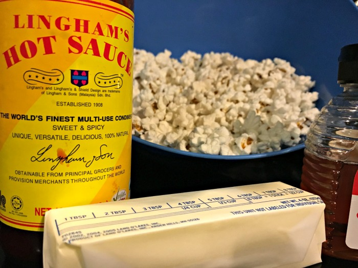 spicy popcorn ingredients
