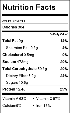 lo-mein-nutrition-label