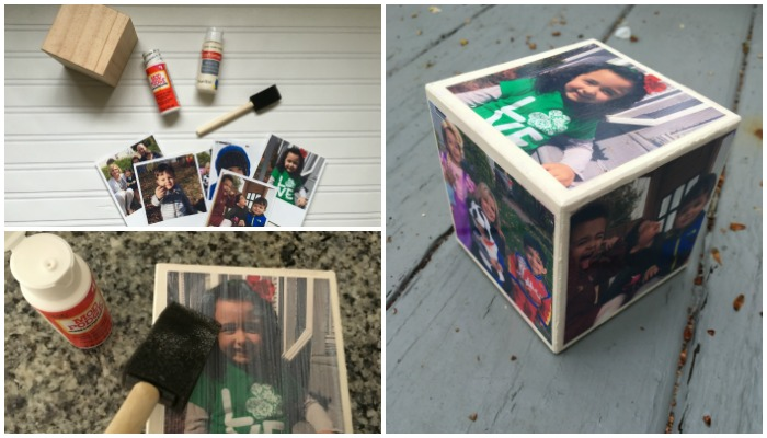 Mother's Day Gift: DIY Photo Cube