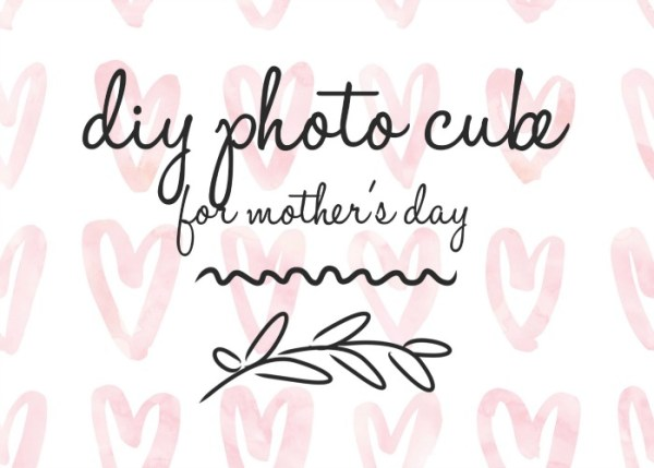 diy photo cube hero