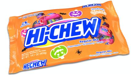 hi-chew halloween bag