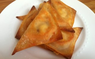 Baked Buffalo Chicken Rangoons