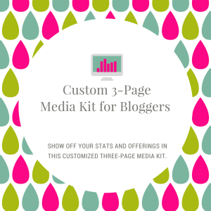Custom 3-Page Media Kit for Bloggers (1)