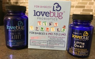 Two Thumbs Up for LoveBug Probiotics + $25 Visa Gift Card and LoveBug Giveaway