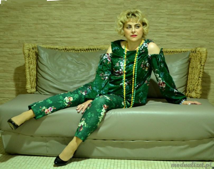 Pokochaj stylizacje w kolorze zieleni