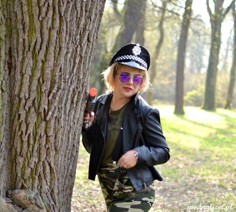 Policyjna czapka Modna Lizet