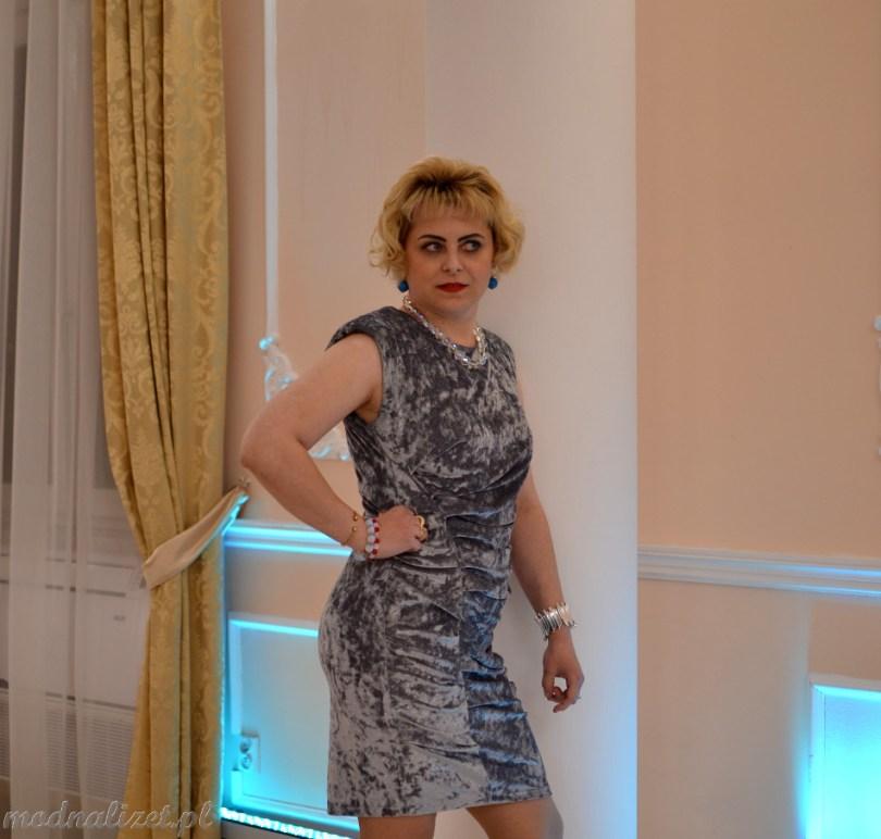 Wizytowa sukienka Modna Lizet