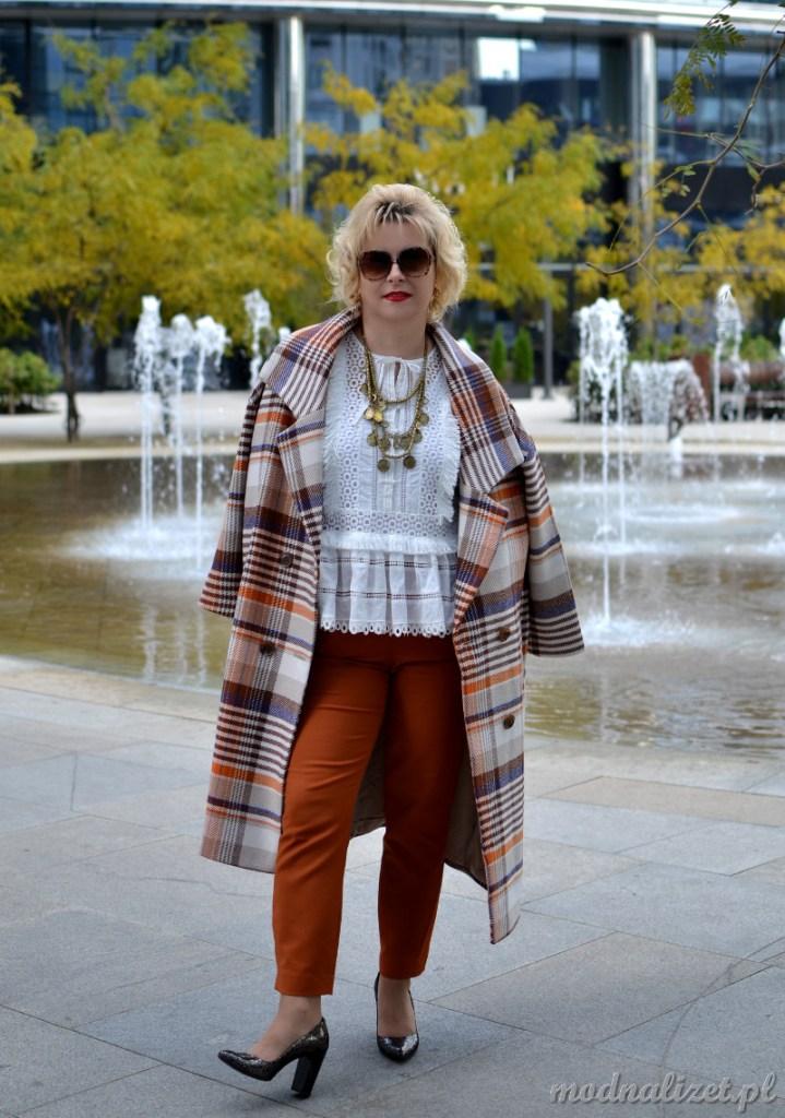 Reserved elegancki płaszcz