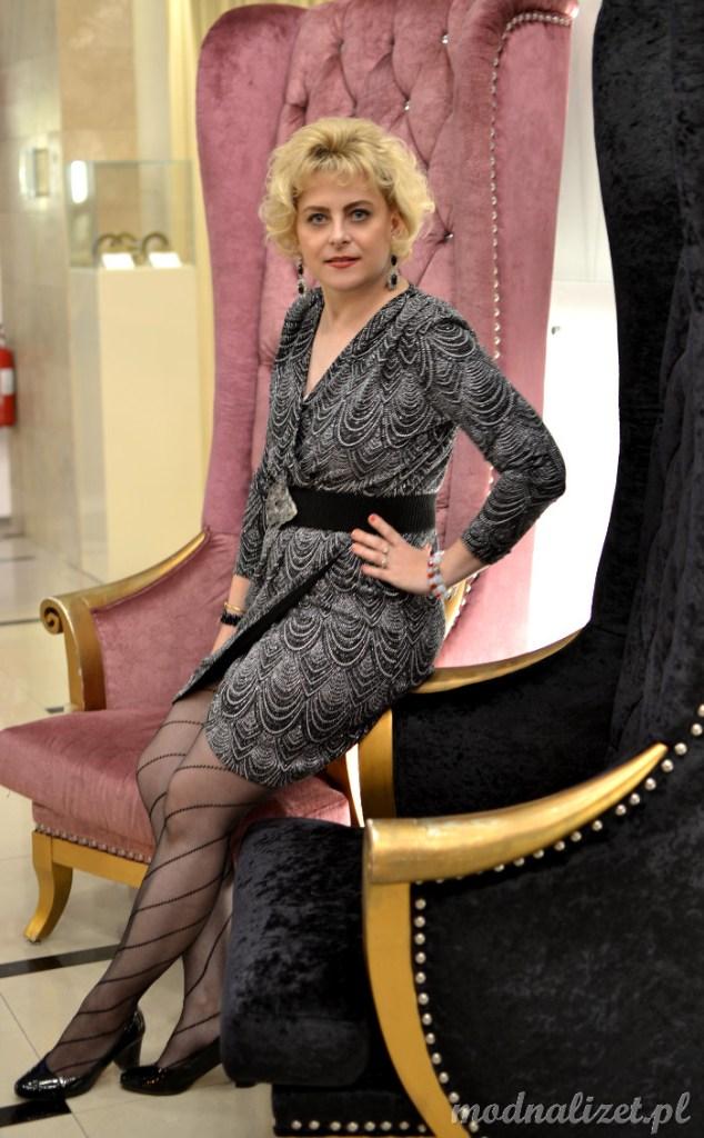 Elegancka sukienka wizytowa