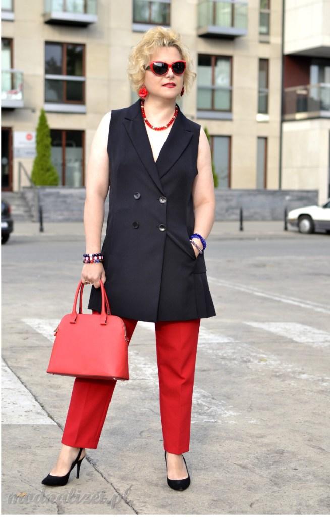 Elegancka stylizacja biznesowa