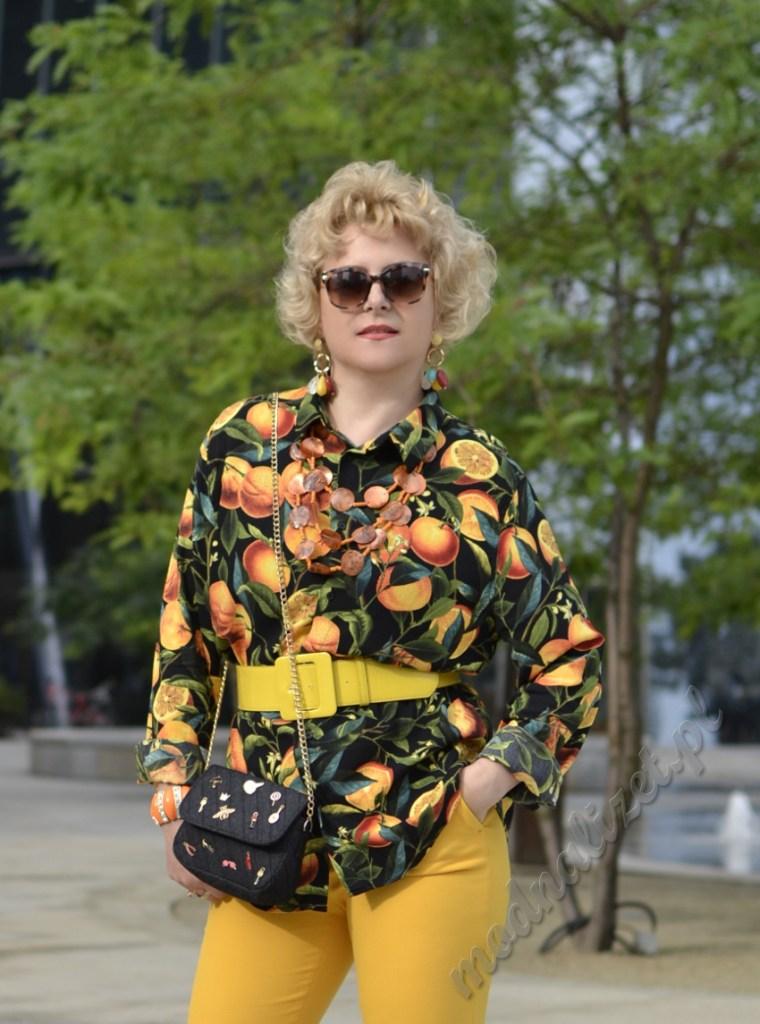 Moda z energią pomarańczy