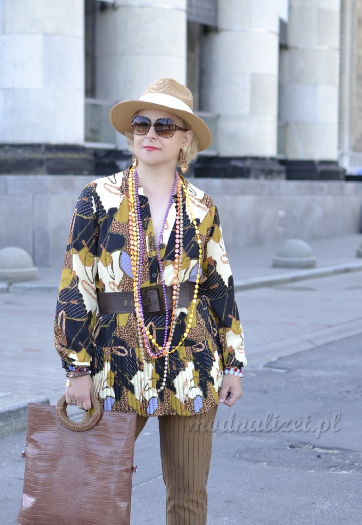 Elegancka tunika ze spodniami