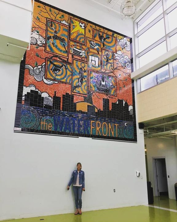 What a great opportunity to make this mural for The Waterfront! This was my…