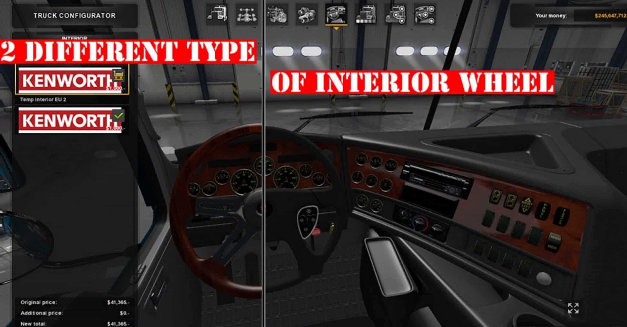 Kenworth K200 For ATS American Truck Simulator Mod ATS Mod