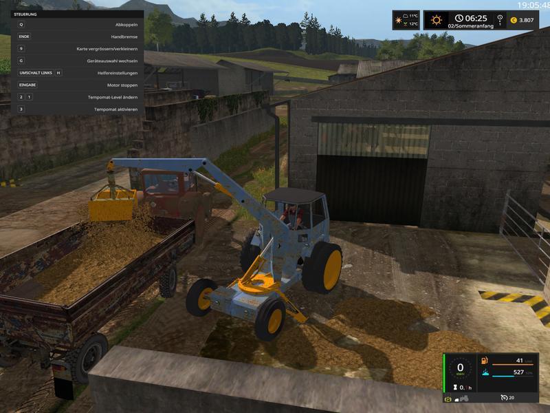 FORTSCHRITT T157 V10 LS17 Farming Simulator 2017 Mod