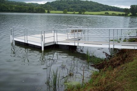 Floating Fishing Dock