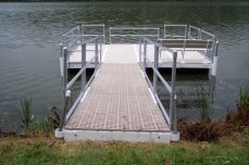 Handicapped Fishing Dock