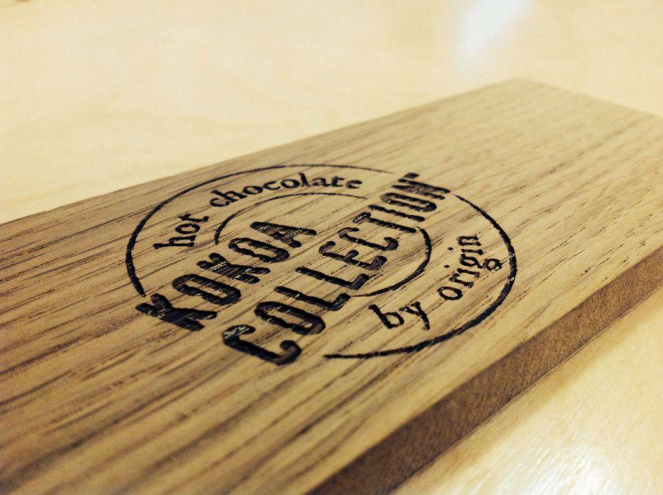 corte láser en madera