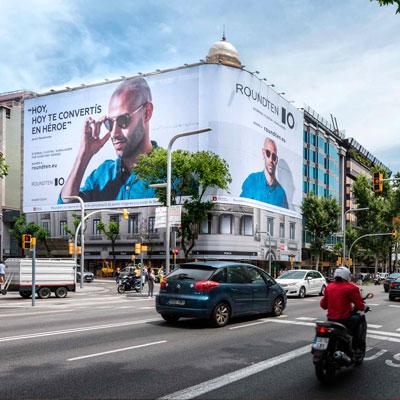 publicidad exterior lona