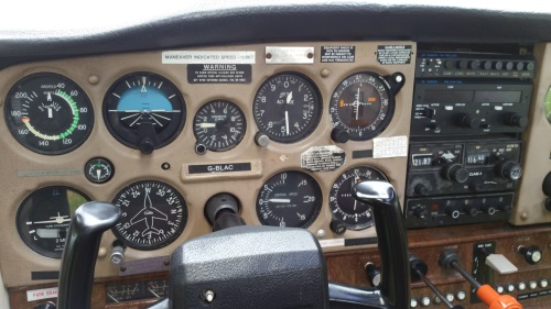 C152 Instrument Panel