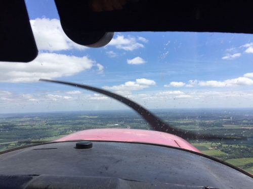 Local flight from Blackbushe