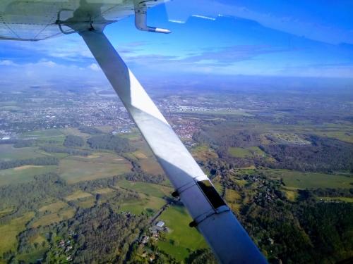 C150 in flight