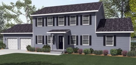 Tyler by All American Homes Two Story Floorplan The Tyler Two Story floor plan built by All American Homes is a spacious   4 bedroom living space perfect for any growing family looking to expand