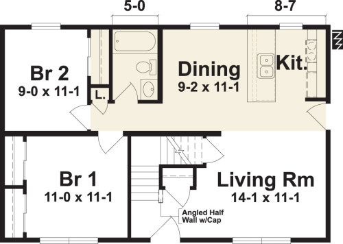 Most Efficient Kitchen Floor Plans
