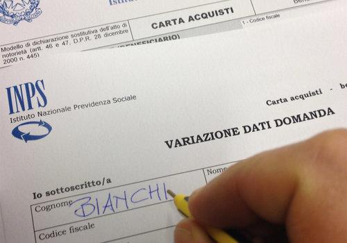 Carta Acquisti Come Variare Dati E Informazioni