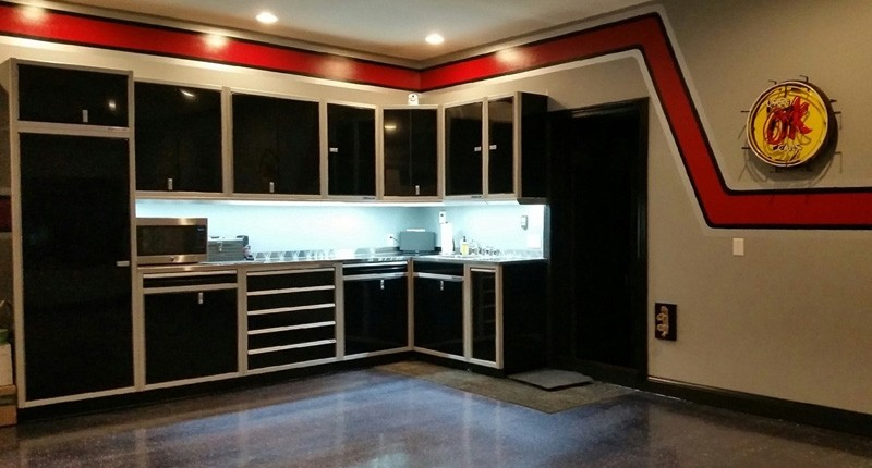 Gallery Of Garage Amp Shop Aluminum Cabinets Moduline Part 2