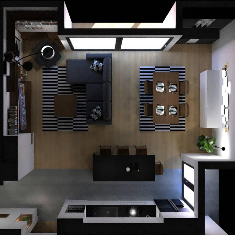 Render rješenja interijera - Modulos