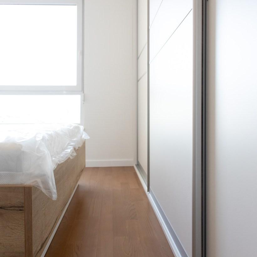 Spavaća soba po mjeri - krevet i ugradbeni ormar