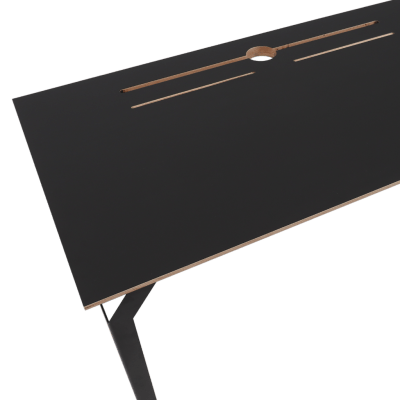 Conform Desk BLK with transparent background