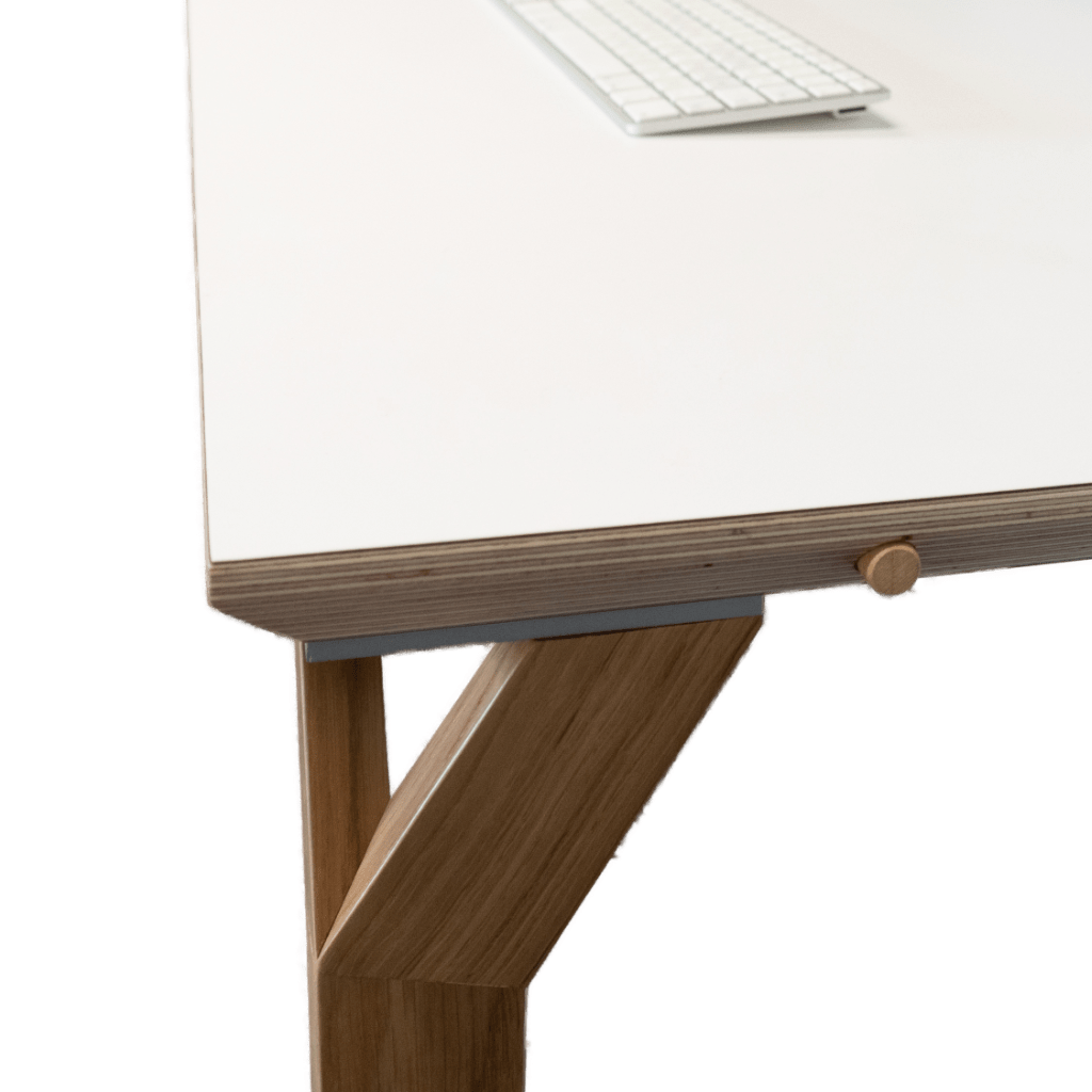 Conform Desk white cut without background