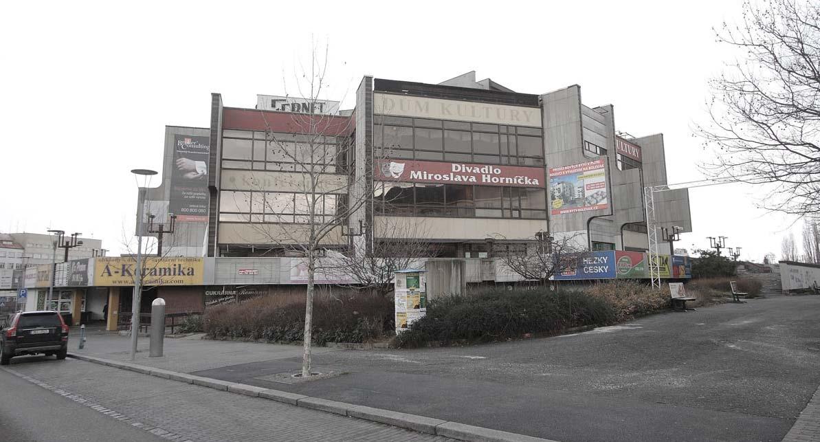 dům kultury Plzeň