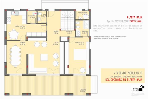 Blog de modus vivendi vivienda d un nuevo modelo de modus for Programa para distribuir una casa