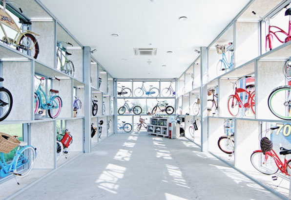 electra bike hub architecturalgroup modusvivendi modus vivendi arquitectos arquitectura architects architecture