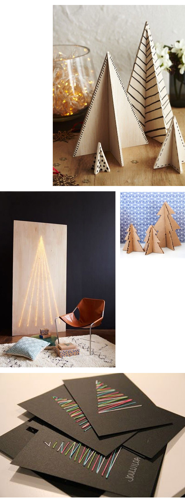 arboles navidad modus vivendi adornos navideños christmas tree diy handmade caseros