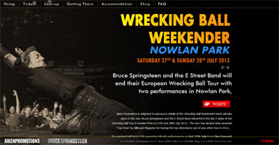 Wrecking Ball Weekender