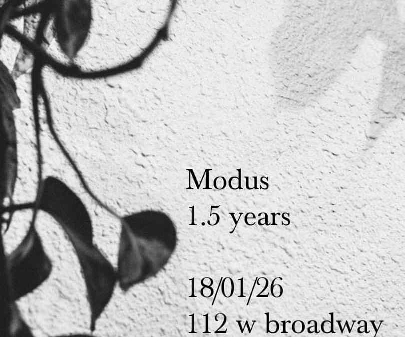 Modus 1.5 year anniversary