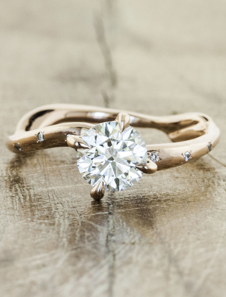 Untraditional Engagement Rings MODwedding