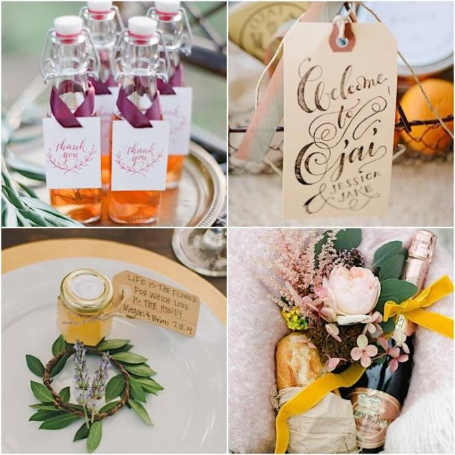 Destination Wedding Guests Gift Bags Example