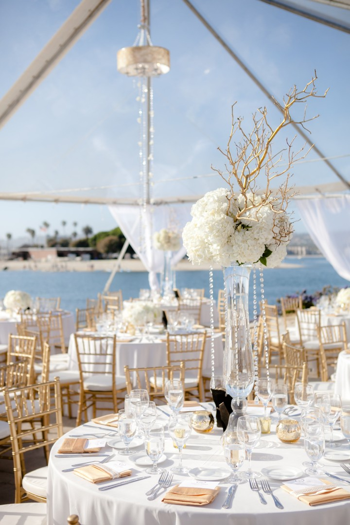 San Diego Wedding Regal Elegance Meets Coastal Chic