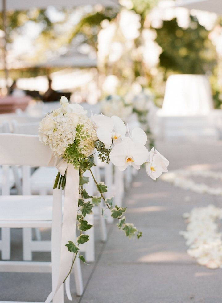 California Wedding A Stunning White Affair Modwedding