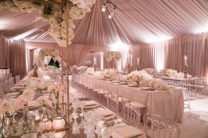 Glamorous White And Gold Beverly Hills Wedding At The Bel